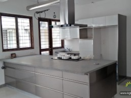 Interiors for House at Kotturpuram